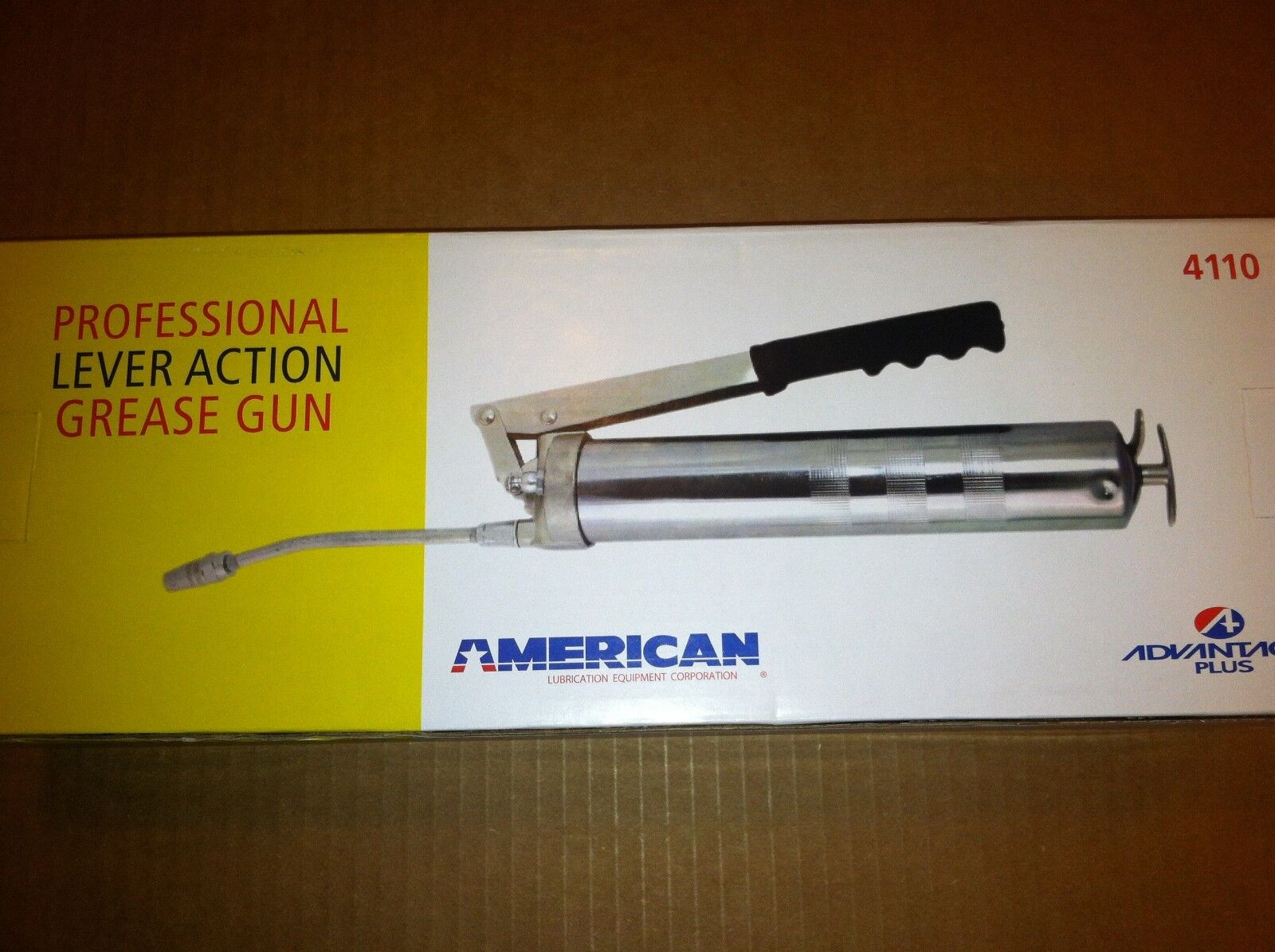 US Government Issue Grease Gun  -10,000 psi-  American Lubrication Equipment