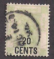 Hong Kong Stamp- Scott  # 52/A1-20c/30c-Canc/LH-1891-Scott $ 175.00