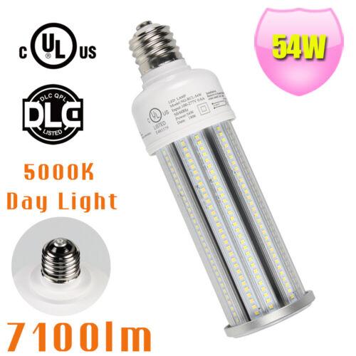DLC E26 E39 54W LED Corn Bulb Replace 125W MH HPS Warehouse Workshop Light bulb