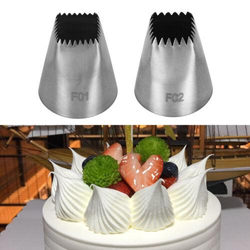 Tips Cupcake Baking Mold Cake Decorating Ice Cream Tool Icing Piping Nozzles