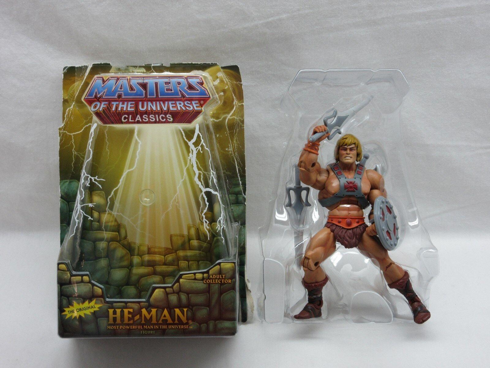 Motuc motu he-Man como nuevo maestro del universo Classics completamente MIB he-Man