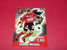 PANINI FOOTBALL CARD 98 1997-1998 CLAUDE MICHEL EN AVANT GUINGAMP EAG ROUDOUROU