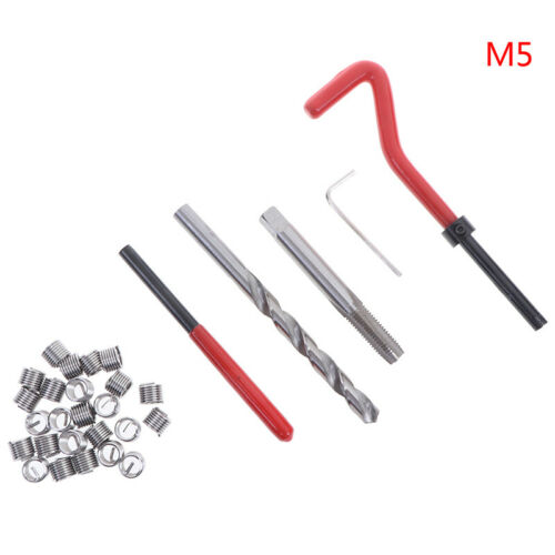 Jeu d/'insert de réparation de filetage métrique M5 M6 M8 Helicoil Pro Coil TWLFR