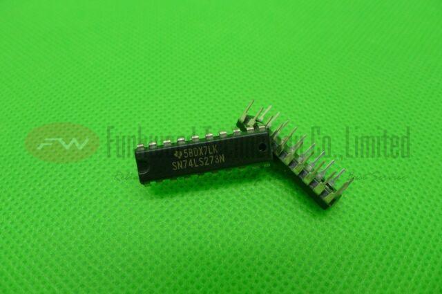 Pos-Edge,3 Pcs Flip Flop D-Type Bus Interface,Texas Instruments,SN74LS273N
