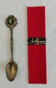 VTG ANKBANA AUSTRALIAN OPAL Souvenir Collectors Spoon - Silver Plated ??
