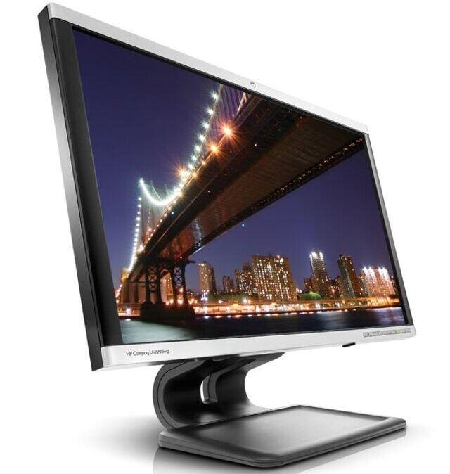 (3 stk) HP, fladskærm, Compaq LA2205wg