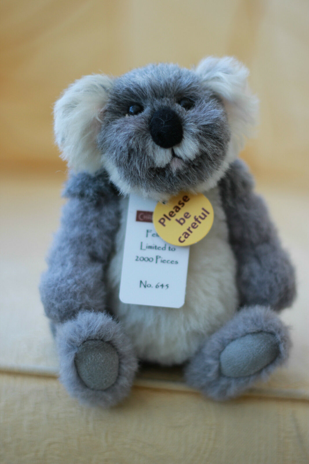 Charlie Bears FELICITY Koala SAFARI FRIENDS Minimo - QVC Exclusive Isabelle Lee