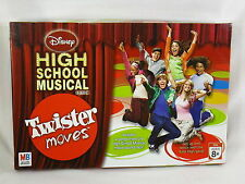 TWISTER MOVES BOARD GAME MB 2007 DISNEY HIGH SCHOOL MUSICAL