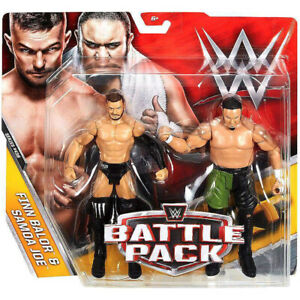WWE-Mattel-Battle-Pack-FINN-BALOR-SAMOA-JOE-Series-43-5-Basic-Figures-NXT-TNA