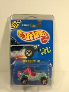 Trailbuster-Collector-110-Hot-Wheels-Brand-New-NIP-1-64-Diecast-w-Protecto