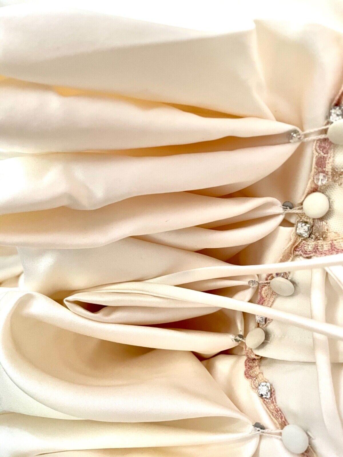 French bustle, corset, vintage, Victorian, Swarov… - image 6