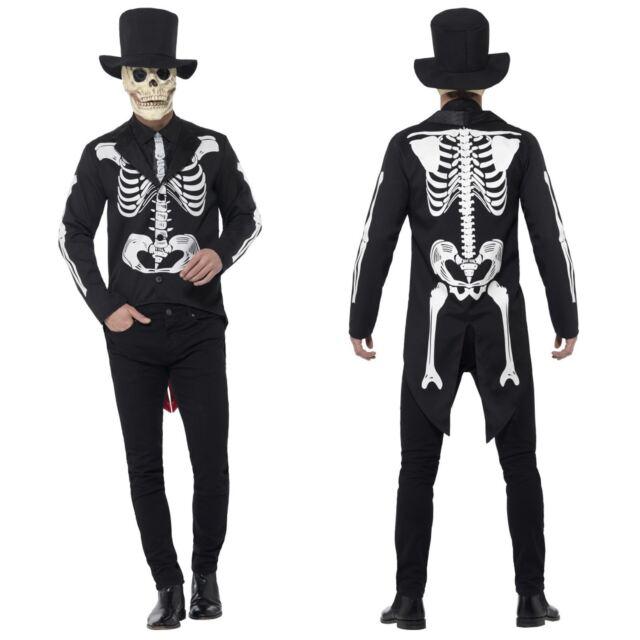 Le jour des morts os Costume Homme Costume