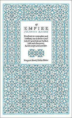 """1 of 1 - """"VERY GOOD"""" Of Empire (Penguin Great Ideas), Bacon, Francis, Book"""