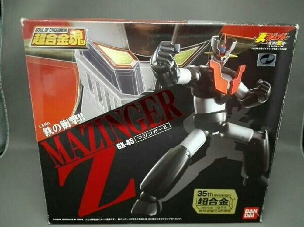 BANDAI TAMASHII NATIONS Action Figure Soul of Chogokin GX-45 MAZINGER Z 160mm