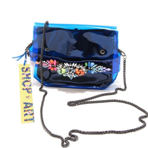 8432g Borsetta Tracolla Donna Accessori Shop Women Pochette Art Blu Bag Borsa FYqFPr