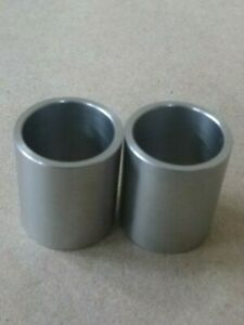 """1//8/"""" ID x 1//4/"""" OD x 5//8/"""" TALL STAINLESS STEEL STANDOFF BUSHING SPACERS 2pcs."""