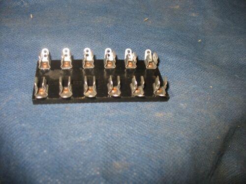 6 gang fuse block