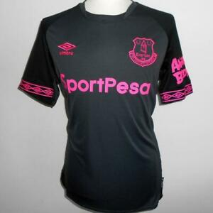 on sale 2c655 47e13 Details about Everton FC Official Umbro Men's Away Football Shirt 2018-2019  NEW Soccer Jersey
