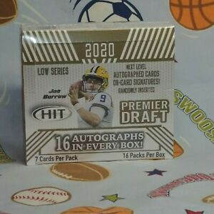 2020-Sage-Hit-Low-Series-Premier-Draft-Football-Box