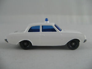 Wiking-ford-17-m-Limousine-1960-034-policia-034-en-blanco-1-87-h0-nuevo-sin-usar