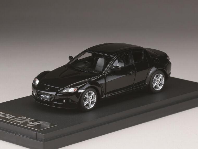 Mark 43 PM4342BK 1 43 Mazda RX-8 SE3P Negro Brillante Coches Modelo