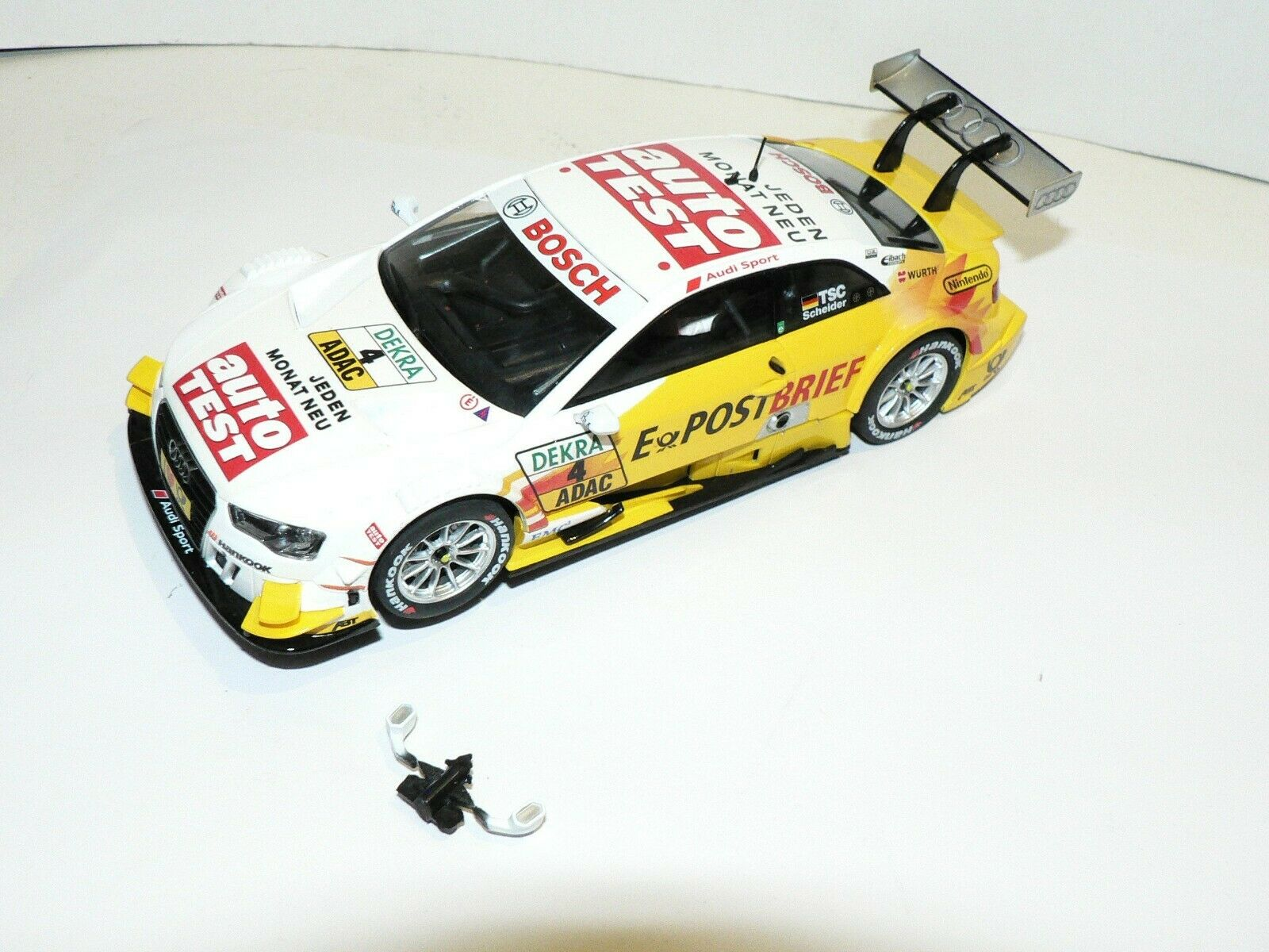 Carrera Digital 132 30658 Audi A5 DTM Timo Scheider 2012 Abt Team New