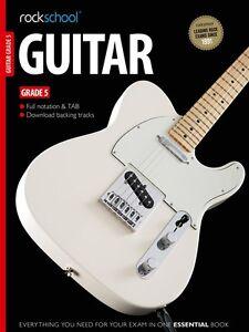 Brillant Rockschool Guitar 2012-2018 Grade 5 + Online *-afficher Le Titre D'origine