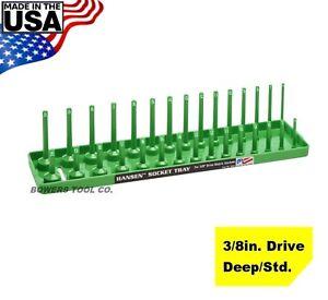 Drive Metric Fits Regular And Deep Hansen Global 3804 Socket Holder 3//8 In