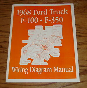 image is loading 1968-ford-truck-wiring-diagram-manual-68-f-