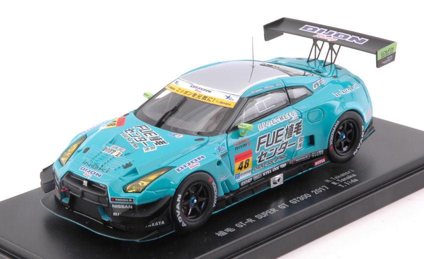 NISSAN GT-R  48 SUPER gt300 2017 H. Takamori/M. Tanaka-T. Lida 1:43 MODEL 45527
