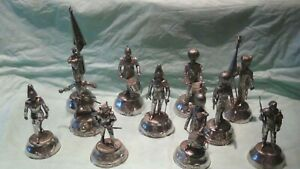 Details about SET OF 11 CHARLES STADDEN FINALY CAST PEWTER MILITARY FIGURES,VERIOUS REGIMENTS