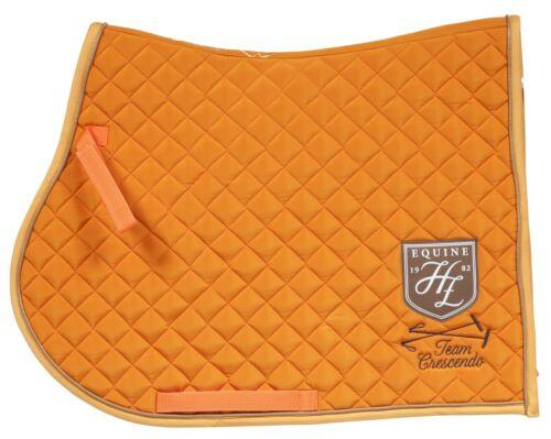 AKTION Pferde Sattelunterlage Schabracke Satteldecke Vielseitigkeit Full Orange