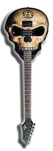 Wicked-SKULL-GUITAR-Solid-Mahogany-Body-Jumbo-Frets-Slight-Blemish-DISCOUNT