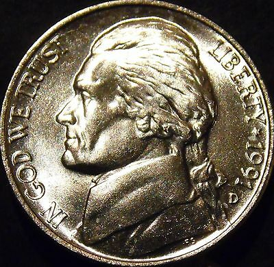 1940-D Jefferson Nickel Gem BU Uncirculated Full Step Full Steps Six Steps