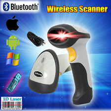 CT10 Wireless Bluetooth Barcode Scanner Code Reader for IOS Android Windows