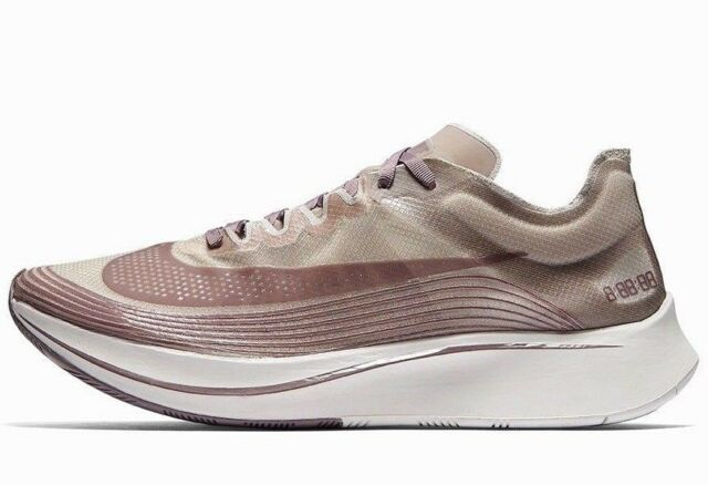 7ebeda22de1a Nike NikeLab Zoom Fly SP Chicago Marathon Mens Running Shoes 11 Taupe Grey