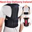 Posture-Corrector-Adjustable-Clavicle-Back-Support-Neck-Brace-Lumbar-Men-Women thumbnail 1