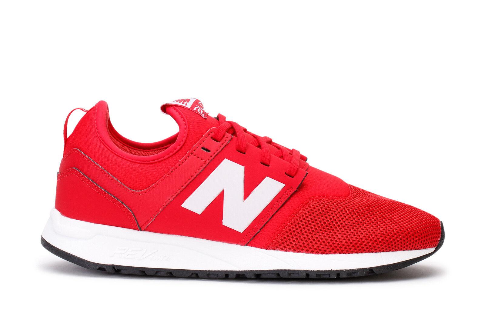 New Balance Mens Sneakers 247 Classic Red White MRL247RW