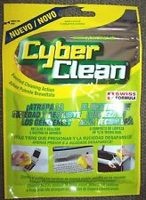 1 PACK of Home & Office Cyber Clean High Tech Cleaner (yellow) Free ship in US!