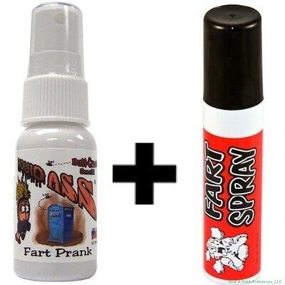 1 Liquid Ass Spray Mister Top + 1 Fart Spray Can ~ COMBO SET