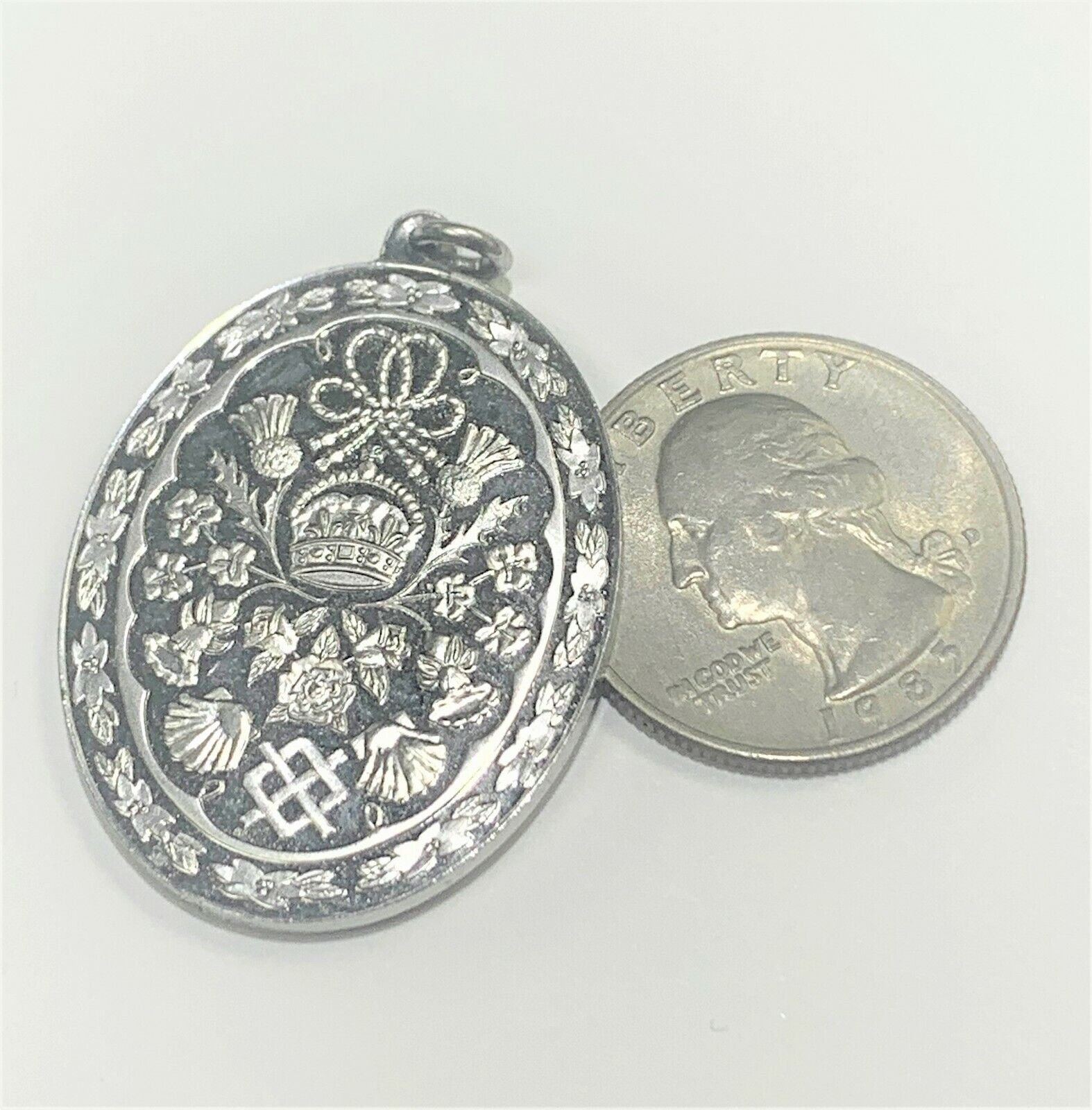 The Royal Wedding Sterling Silver Pendant Of Prin… - image 5
