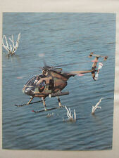 PHOTO PRESSE MCDONNELL DOUGLAS MD 500 DEFENDER HELICOPTER PHILIPPINE AIR FORCE