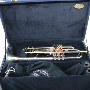 B&s 3137/2st Challenger Ii Professional Trompette Argent Massif Bell Brand New-afficher Le Titre D'origine Acheter Un En Obtenir Un Gratuitement