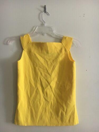 maniche superiore Dana senza giallo S camicetta Buchman formale donna sole taglia Xfqf1Sw