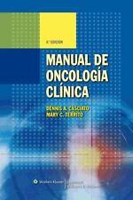 Manual de Oncologia Clinica (Spanish Edition), Territo, Mary C., Casciato, Denni
