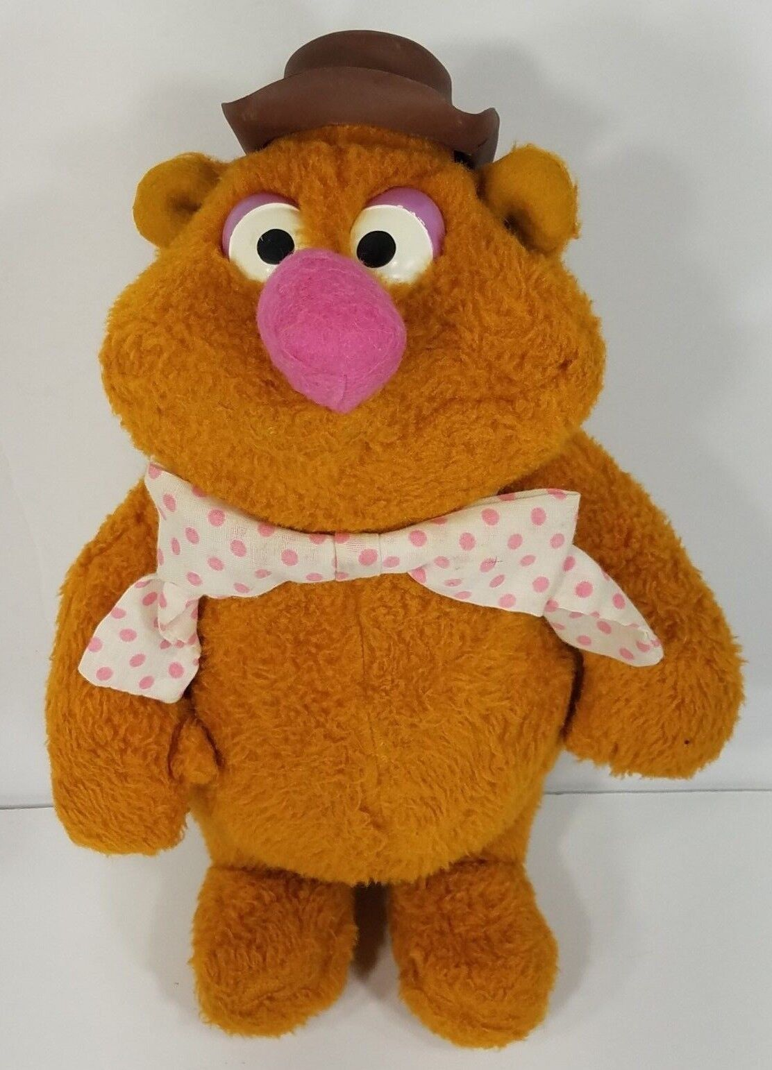 RARE Jim Henson & Associates Fozzie Doll 13 in stuffed plush Fisher-Price 1976