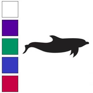 Size #219 Dolphin Porpoise Decal Sticker Choose Color