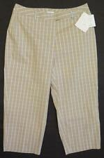 NEW w/ Tags $59 ~ LIZ CLAIBORNE LIZSPORT * AUDRA ~ Women's Cropped Pants 12P