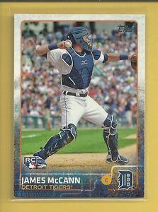 James McCann RC 2015 Topps Series 1 Rookie Card # 12 Detroit Tigers Baseball