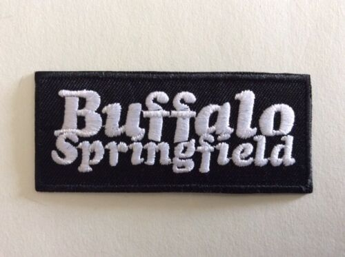 BUFFALO SPRINGFIELD 8*3,5 CM NEUF M336 //// ECUSSON PATCH AUFNAHER TOPPA